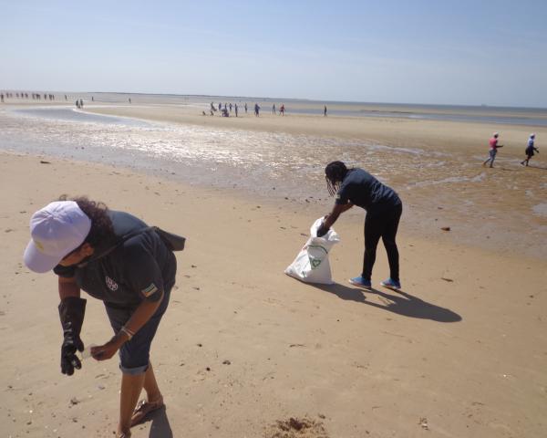 General electric – Limpeza de praia