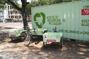 Ecoponto e Triciclo