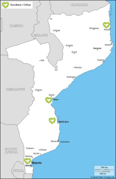Mozambique AMOR Offices