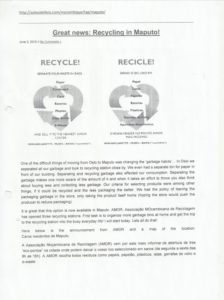 2010 06 03 AMOR Recycle Recicle
